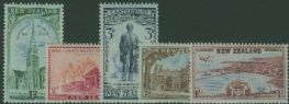 NZ SG703-7 Centennial of Canterbury set of 5